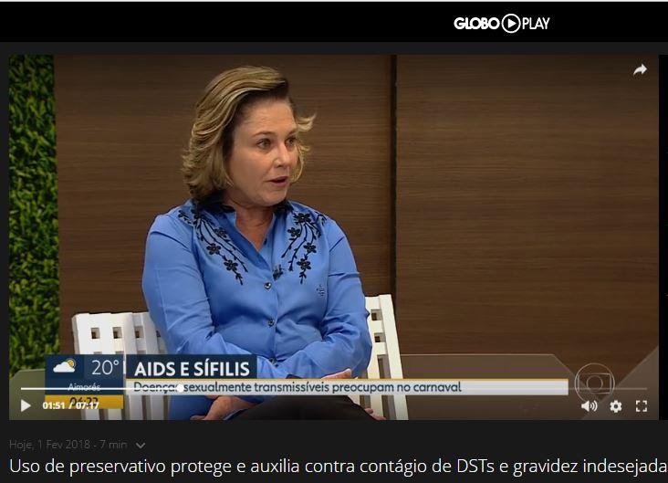 Rede Globo – Entrevista sobre DSTs para o Bom Dia Minas