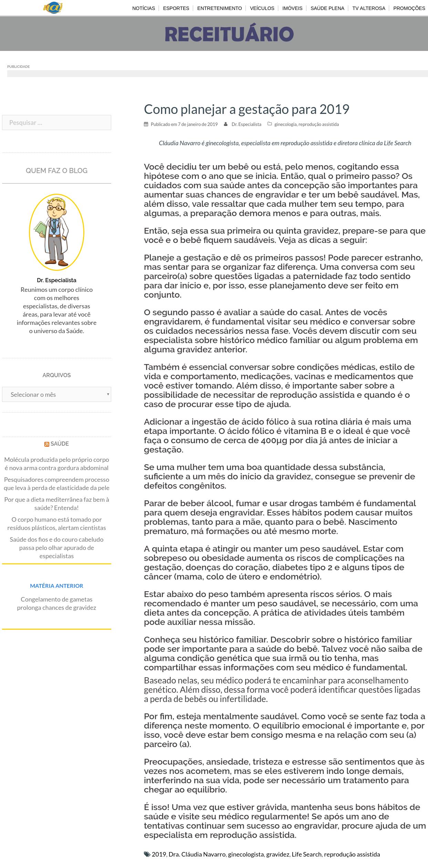 Portal UAI – Como planejar a gestação para 2019