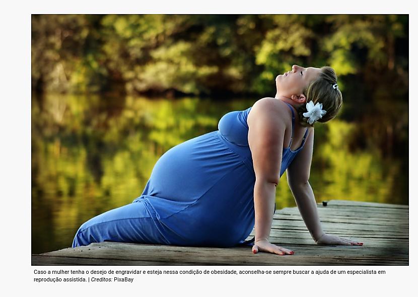 Desequilíbrio hormonal em mulheres obesas é fator de peso para a dificuldade de engravidar